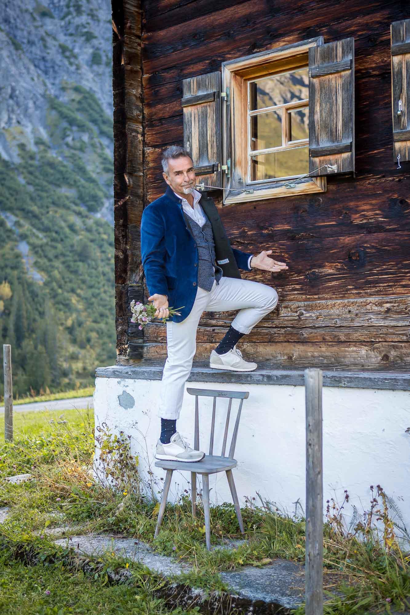 Luis Trenker Geschäftsführer Michael Klemera fotografiert von Matthias Baumgartner aus München, Augsburg, Kleinaitingen