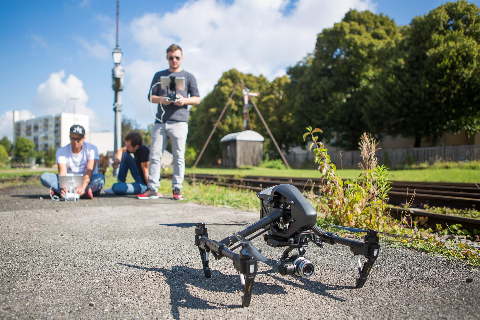 Drohne, Luftaufnahmen für Audi Q2, Dreh-Matthias Baumgartner Videofotografie