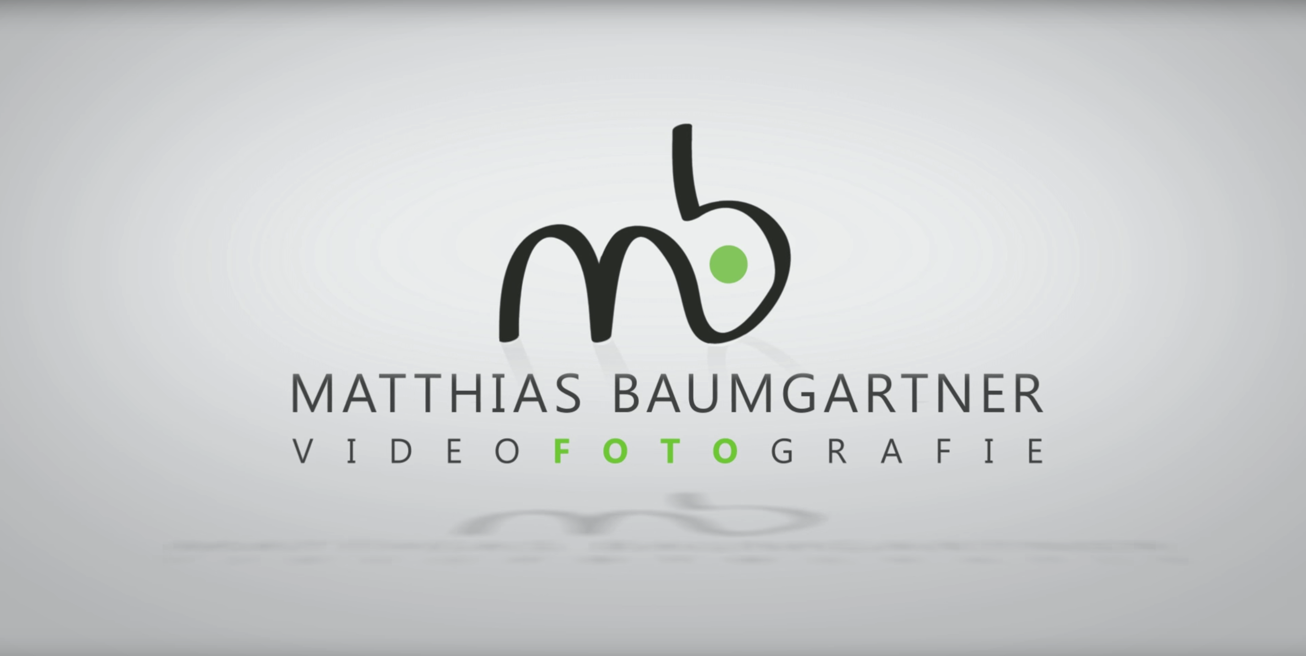 Matthias Baumgartner Videofotografie in den Bereichen Imagefilm, Werbefotografie, Luftaufnahmen, Teamfotos präsentiert den neuen MB-Foto-Film.