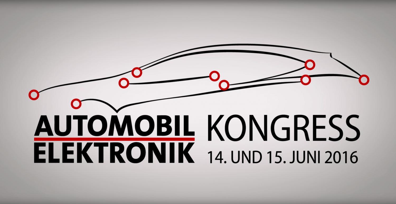 Automobil-Elektronik-Kongress in Ludwigsburg im Juni 2016 bei Stuttgart. Eventfilm und Interviews wurden umgesetzt von Matthias Baumgartner Videofotografie