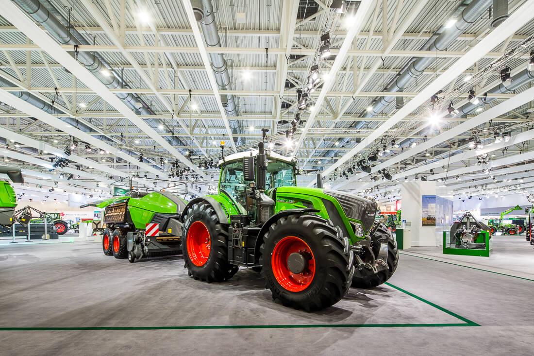 Fendt Agco auf der Agritechnica in Hannover