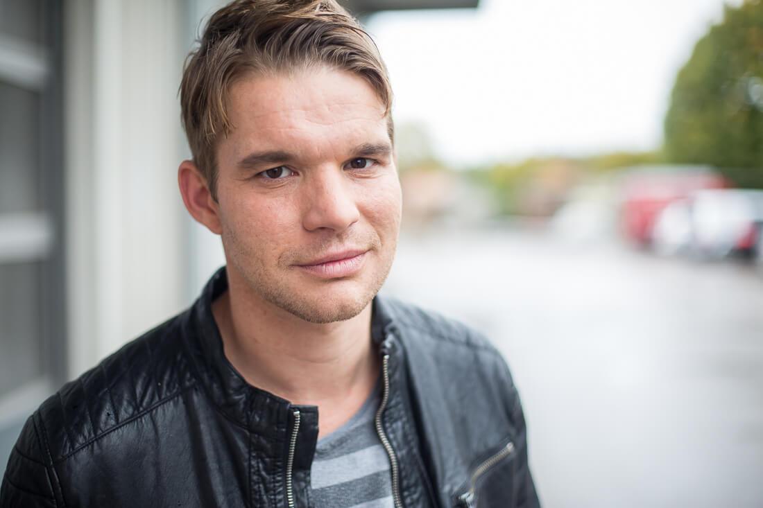 Portrait Tobias Schenke, Foto Matthias Baumgartner