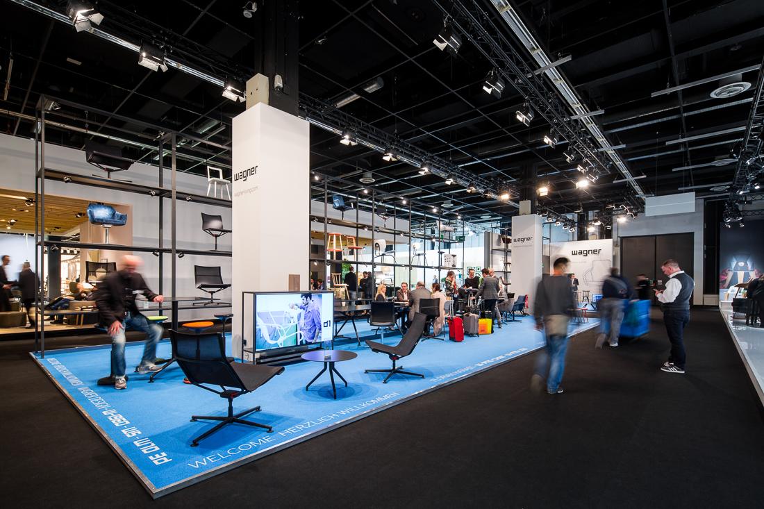 Foto von Matthias Baumgartner für WAGNER auf der IMM 2018 in Köln.