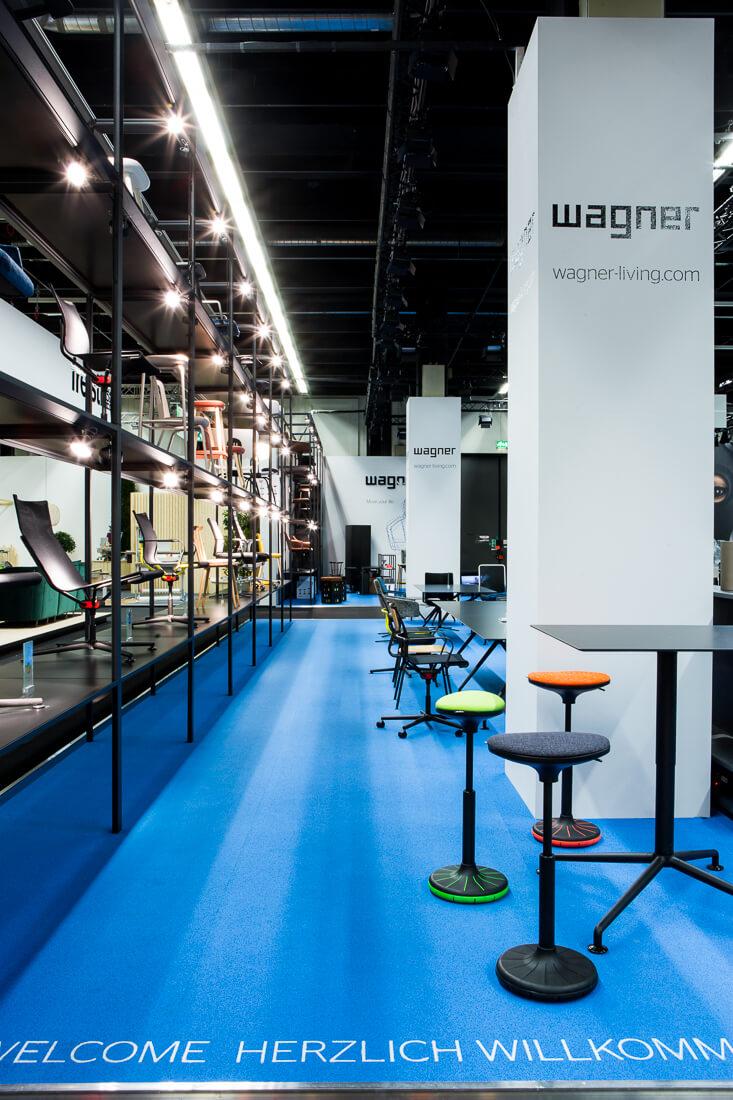 Messestand Wagner IMM Köln 2018, Foto Matthias Baumgartner