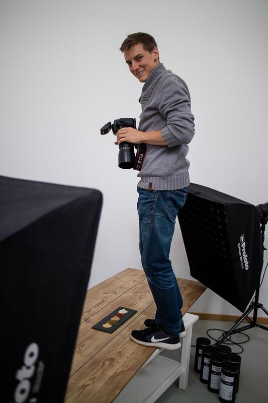 Making-of Shooting Nährstoff Pur Matthias Baumgartner Werbefotografie