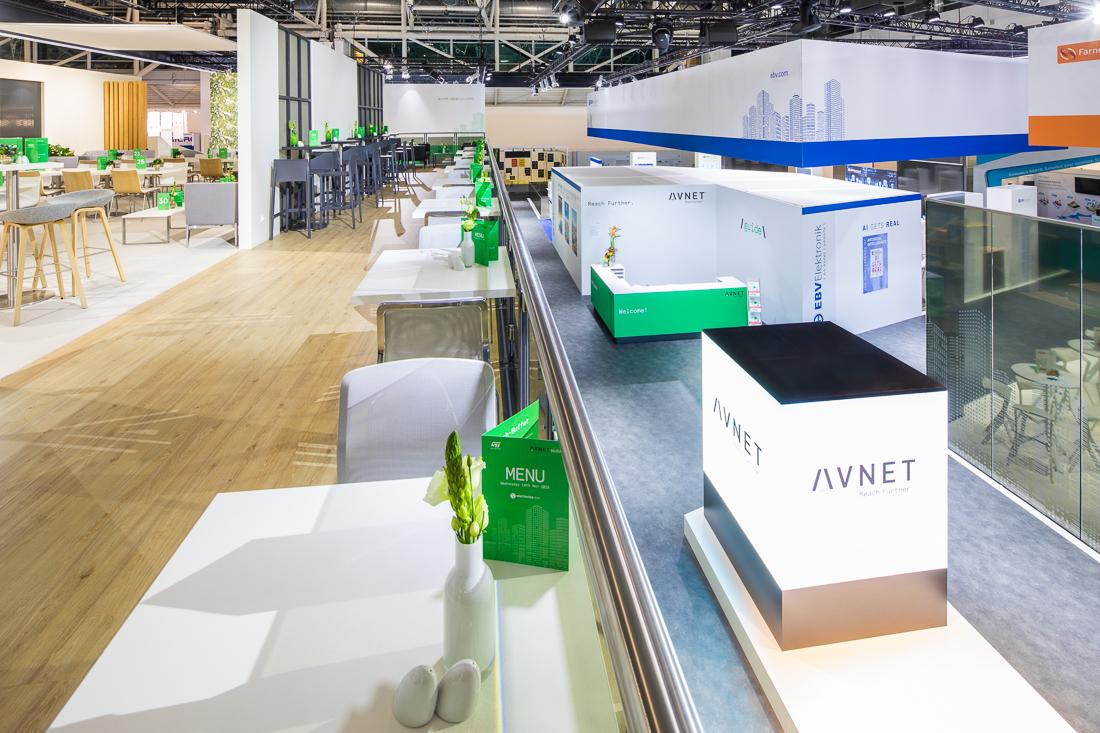 Messefotografie Messe München für VRPE auf der Electronica 2018