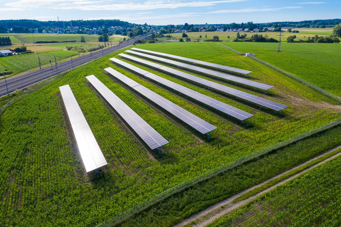 AGRO Photovoltaik-Anlage Althegnenberg. Projektmarketing Video und Foto von Matthias Baumgartner Werbefotografie