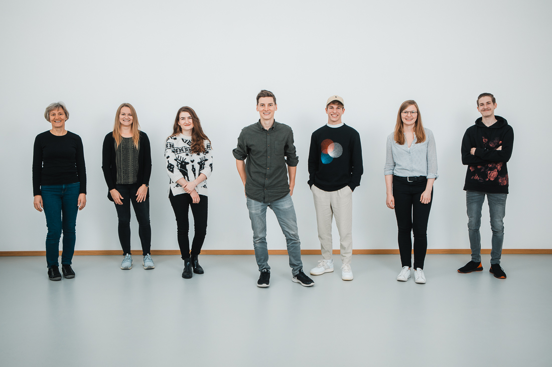 Das Team von Matthias Baumgartner Videofotografie aus Kleinaitingen bei Augsburg.