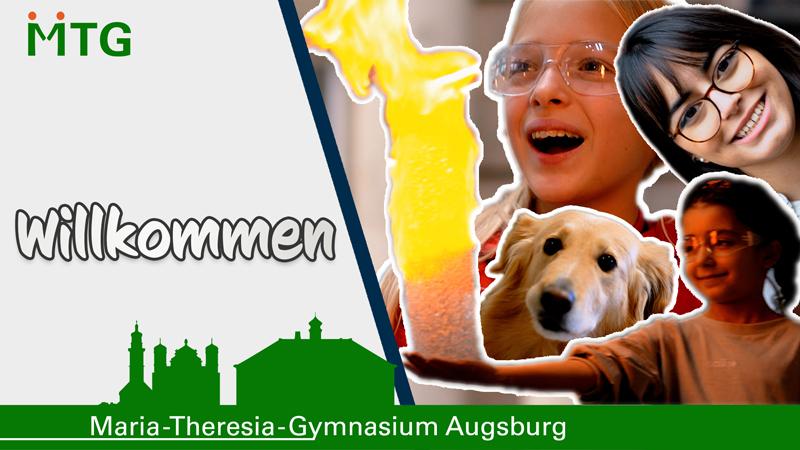 Thumbnail des Willkommens-Videos des MTG in Augsburg.